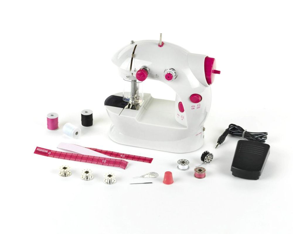Portable Fashion Passion Kids Sewing Machine 2 Speed High Quality For Beginners Kids Gift